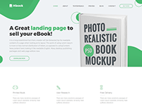 Hbook - Responsive Book Landing Page Template