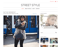 Street Style WordPress Theme by NimbusThemes