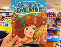 Ilustração do livro infantil o Segredo do Mar!
