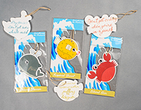 Ocean-Themed Inspirational Air Fresheners