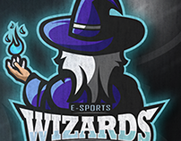 Wizards | Mascot logo (for sale)