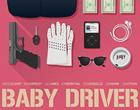Baby Driver - Alternative Poster