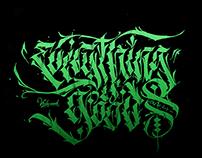Calligraffiti collection no. 2