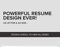 Clean Resume CV - Hudson
