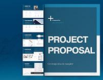 Blue Proposal Layout