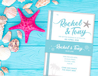 Nautical Wedding Stationary