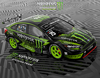 Ford Focus STC2000 Monster Energy (concept)