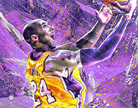 Kobe Bryant NBA Artwork