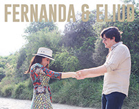 Save the Date - Fernanda & Eliud. GRAPHICS & PHOTO.