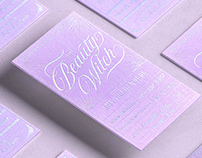 The Beauty Witch · Brand + Business Card