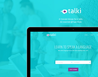 e-Talki Website Design