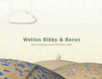 Welton Bibby & Baron Paper Butterfly