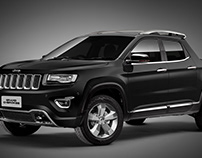 Jeep Grand Cherokee pick up