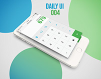 Calculator UI Design Day-004