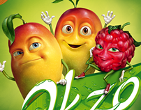 •Эkzo 'Mango-Raspberry'•