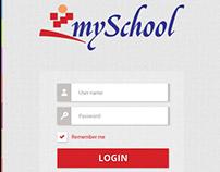 Myschool - Mobile App