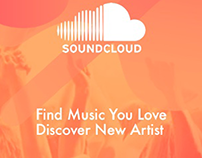 Experimental Project: Soundcloud Apps Redesign