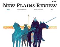 Design for New Plains Review Website & Blog