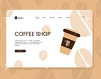 Coffee Shop Landing Page Design