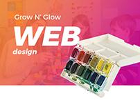 Grow N' Glow - Web design