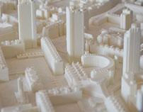 3D Printed ArchitecturalLondon City Model