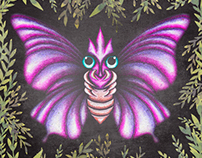 Venomoth (Pokédex Bolivia)