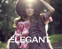 BOHO Queen for ELEGANT Magazine