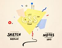 Sketchnotes - CSSConf EU 2015
