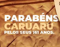 Anúncios - Aniversário de Caruaru