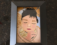 Baby Inez Portrait