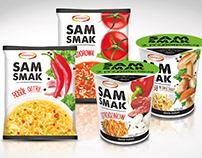 "Rebranding marki ""SAMSMAK"""