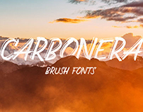 CARBONERA Brush Fonts