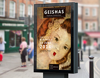 Geishas Exhibition | Advertising