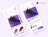 Shoes Store App - (Freebie)