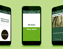 Blind Trail Guide App