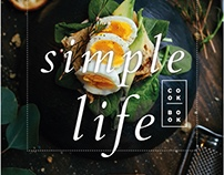 Simple Life Cookbook Template