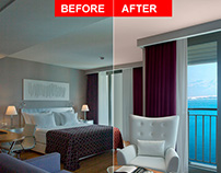 Hotel Retouching / Before-After / Part-1