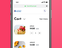 Web app Redesign - Carrefour