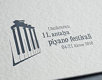 Logo Design - Draft, Antalya Piano Festival