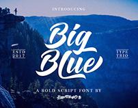 Big Blue Font
