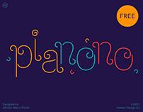 Pianono Typeface
