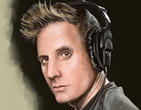 Portrait exercise - Mastodon's Brann Dailor
