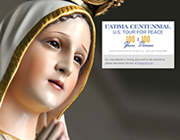 Fatima Centennial Tour Website