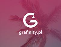 grafinity.pl - rebranding concept