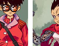 Akira fanart series