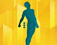 Isaac Asimov - Book cover design