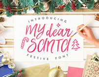 My Dear Santa - Holidays Font
