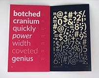 """""""LATO"""" - Type Specimen Print Book"""