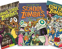 Tales of the School Zombies graphic novels