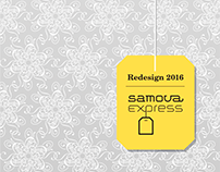 samova Express Packaging Redesign – 2016